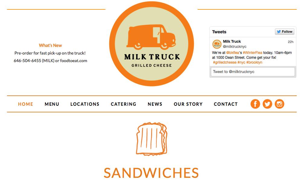 Milk Truck NYC
