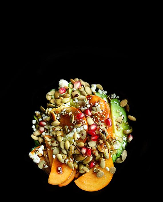 Enfatizzate i colori del cibo