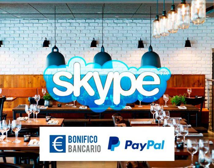 Video consulenza Skype dedicata