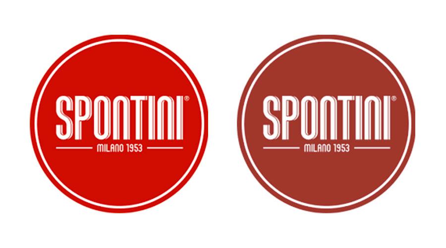 Usare i colori nel food: il logo Spontini