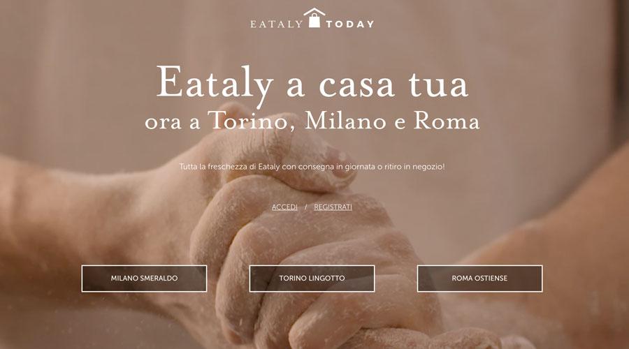 La customer e shop experience di Eataly: il servizio Eataly Today