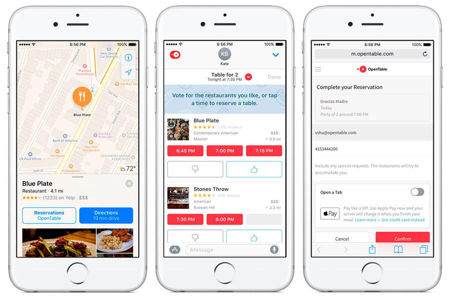 Personalizzare la customer experience: la app di Open Table