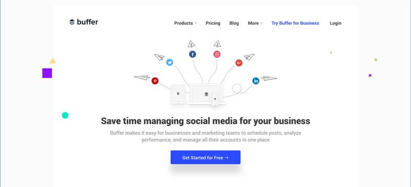 Buffer - Social Media Management tool