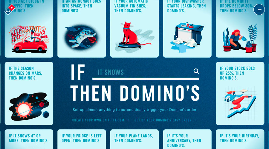 IfThisThenDomino's - Domino's Pizza